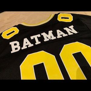 Boys Batman Shirt, hat and glove